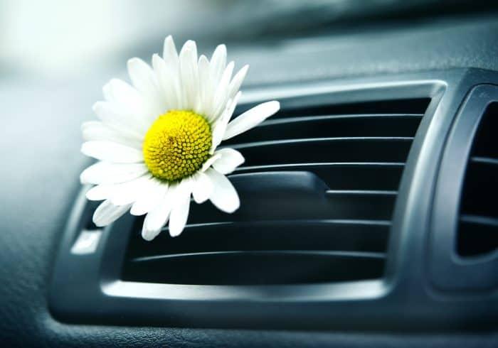 ricarica del ricarica del clima e igienizzazione auto
