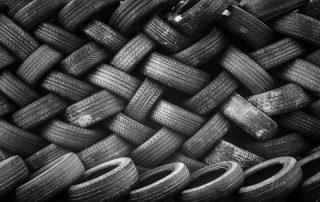 lo smaltimento delle gomme dei pneumatici non si butta via niente