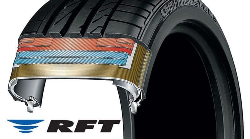 Carcassa e struttura di un pneumatico runflat