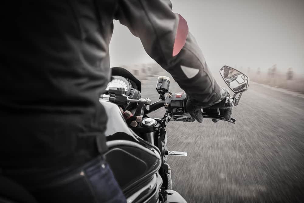 moto in inverno