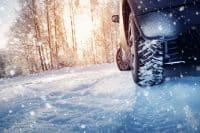 pneumatici invernali sulla neve