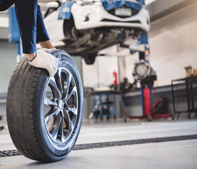 inversione pneumatici auto