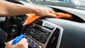 lavaggio auto interno