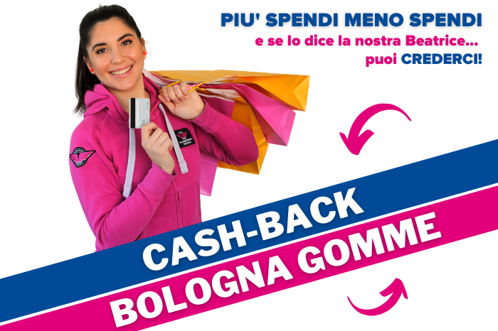Cash Back bologna gomme
