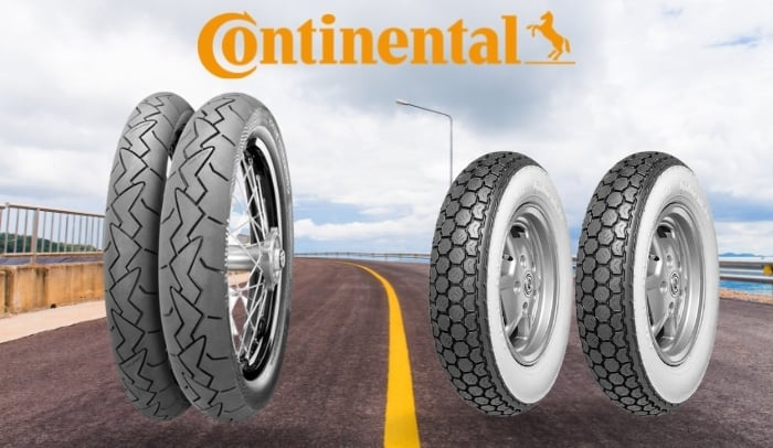 gomme scooter continental