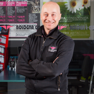 Andrea responsabile punti vendita Bologna Gomme