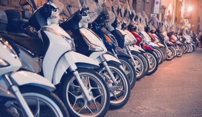 pressione pneumatici scooter